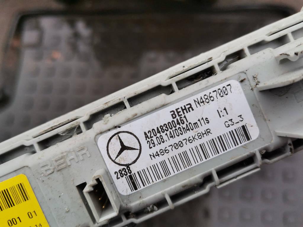 Радиатор отопителя A2048300461 Mercedes-Benz GLK-Class 2014 X204 651.912 Москва фото 3
