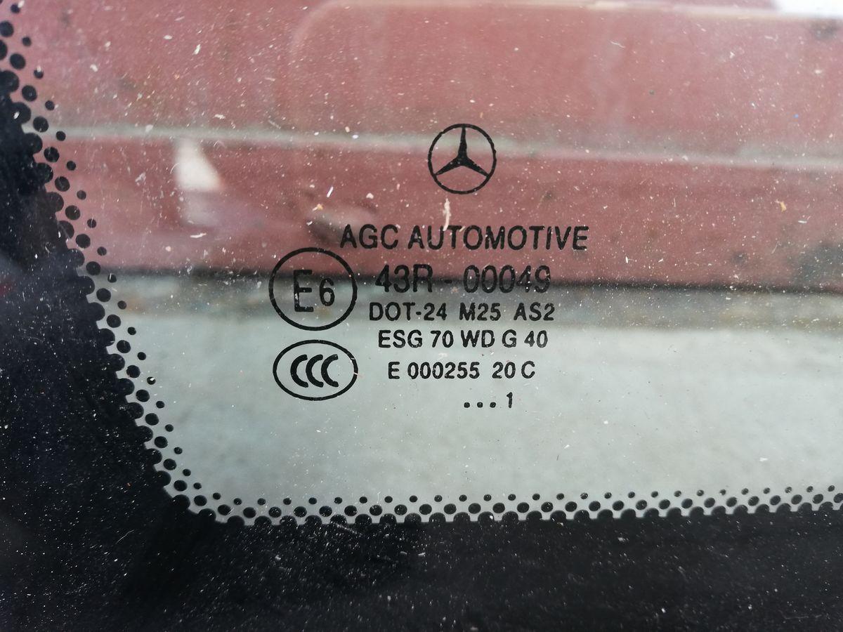 Стекло кузова слева сзади A2046702754 Mercedes-Benz GLK-Class X204