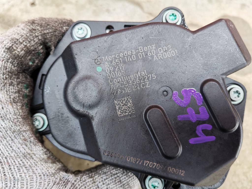 Клапан EGR A6511400160 Mercedes-Benz C-Class 2009 W204 651.911 Москва фото 3