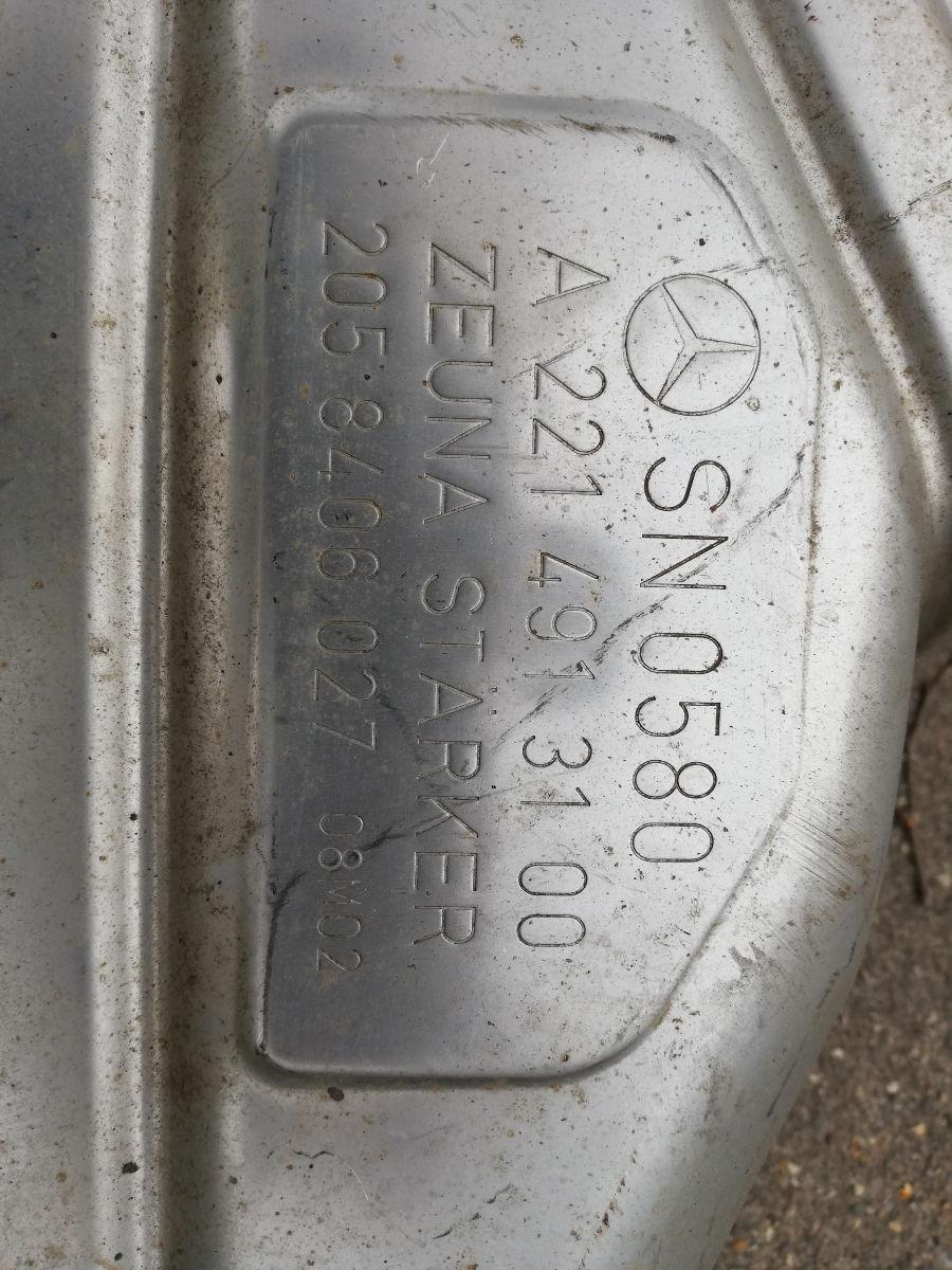 Глушитель Mercedes-Benz S-Class W221 M273 E55 Москва фото 4