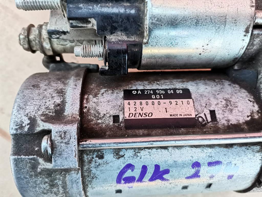 Стартер A2749060400 Mercedes-Benz GLK-Class 2013 X204 274.920 Москва фото 3