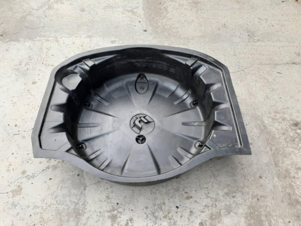 Поддон запасного колеса Mercedes W221 S500 M273